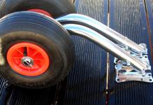 Транцевые колеса Стандарт (быстросъёмные)