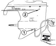 ТО двухтактного двигателя (30- 100 лс)