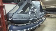 Установка ходового тента на лодку ПВХ