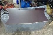 Замена транцевой доски (транца) 36 мм