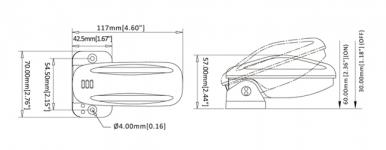 Выключатель поплавковый SEAFLO SFBS-18-02