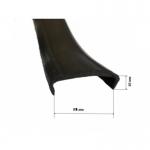 Лента PVC П-образная 18 мм