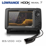 Lowrance HOOK Reveal 7x SplitShot 83/200